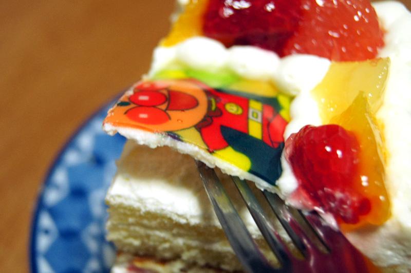 写真ケーキの絵柄
