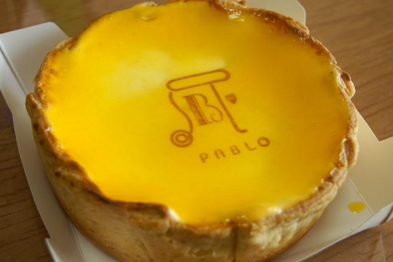 パブロの焼きたてチーズタルト