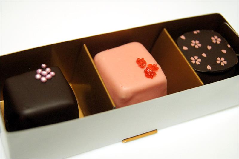 ダブルショコラ 苺ショコラブラン 和三盆ショコラ