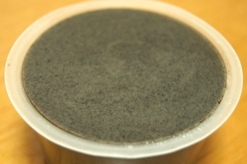 黒いプリン